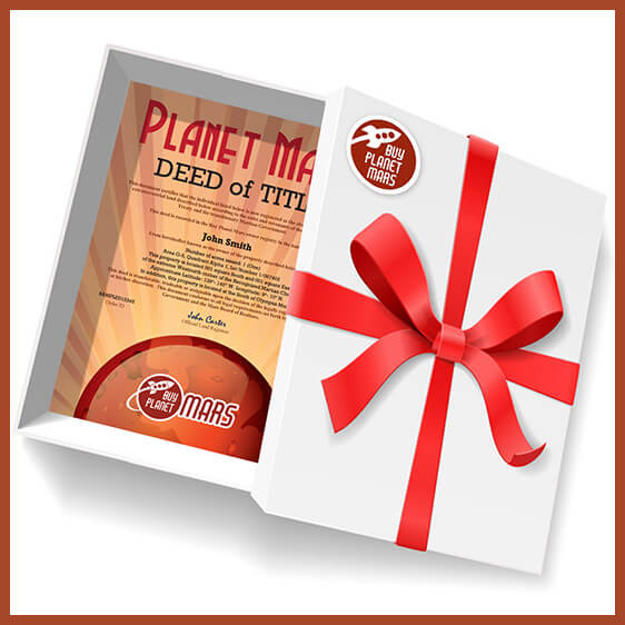 Planet Mars Gifts