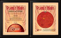 Planet Mars Deed
