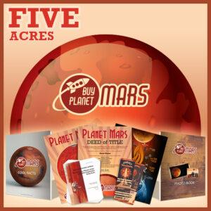 buy planet mars 5 acre deed buyplanetmars