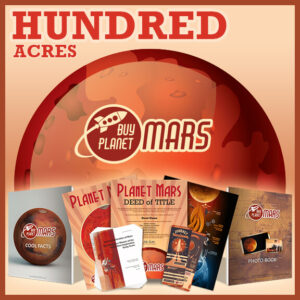 100 Acres On Planet Mars - BuyPlanetMars